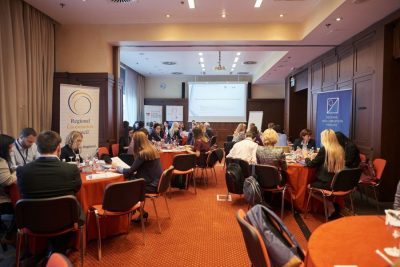 The participants at the Regional Forum on Effective Prevention of Corruption through Risk Assessment, 25-26 October 2017, Ljubljana